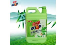 奇强绿茶速效洗洁精