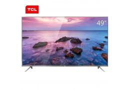 TCL 49P4 49英寸HDR纤薄4K 安卓智能液晶电视金属机身(锖色)