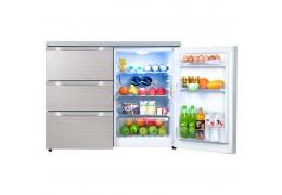 尊贵(ZUNGUI) BCD-210CV 210升 卧式冰箱 家用冰柜多门小型嵌入式冰箱 酷金